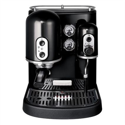 KitchenAid Espressomachine Artisan zwart