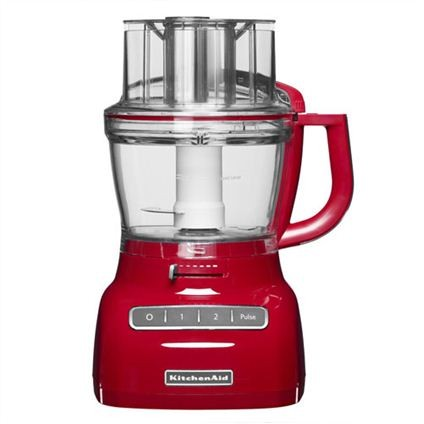 KitchenAid 3,1 liter foodprocessor keizerrood