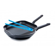 BK Easy Induction set koekenpan 28 cm + grillpan 26 cm