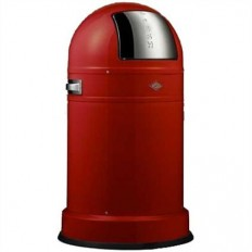 Wesco Pushboy 50 liter classic line rood