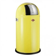 Wesco Pushboy 50 liter lemon yellow