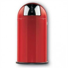Wesco Pushboy 50 liter rood