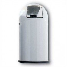 Wesco Pushboy 50 liter wit